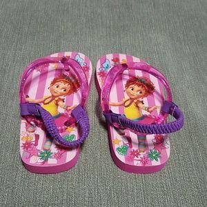 Disney Fancy Nancy Flip- Flops